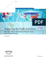 ICTSD White Paper - James Bacchus - Triggering the Trade Transition - G20 Role in Rules for Trade and Climate Change - Feb 2018