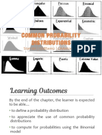 2.3 Probability Distributions