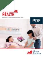 Supreme Health Brochure