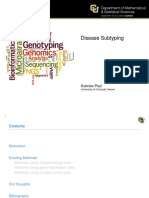Disease Subtyping