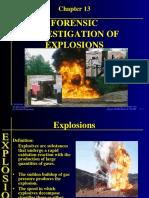 Investigacion de Postexplosiones