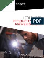 201804 Led Lenser Catálogo Productos Para Profesionales