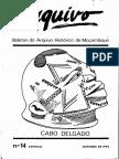 Boletim Do Arquivo Histórico de Moçambique Nº14 Especial - Outubro de 1993