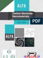 Carbon Nanotube Nanomaterials