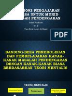 PKDK3093 Pengajaran Bahasa Untuk Murid Masalah Pendengaran [Autosaved]