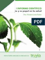 07 La Stevia y Su Papel en La Salud Informe Científico Por Truvía