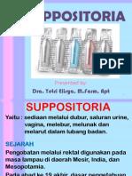 FORMULASI SUPPOSITORIA-2018