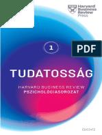 TUDATOSSÁG, HARVARD BUSINESS REVIEW PSZICHOLÓGIASOROZAT I.