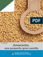 Amaranto Una Pequeña Gran Semilla ARG
