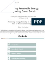 Financing Renewable Energy