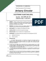 Ac 24-Electronic Flight Bag (Efb)