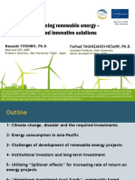 Financing Renewable Energy – Green Finance and Innovative Solutions