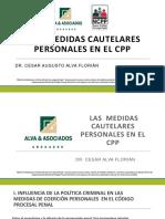 Dipositivas de Medidas de Coercion Personal_Cesar Alva_ETI Penal Distrital-CSJLL