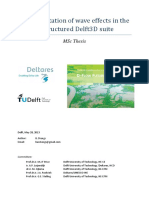 280513 Implementation of Wave Effects in the Unstructured Delft3D Suite Final