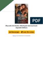 VOFA Huyendo Del Destino Harlequin Internacional Spanish Edition by Terri Brisbin B01FSMUY50