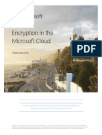 Encryption in the Microsoft Cloud