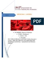 Anemia Glosario