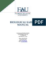 Biological Safety Manual