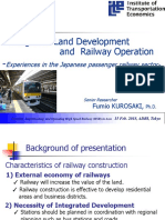 Integrated Land Development and Railway Operations