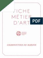 Charpentier de Marine-Fiche Metier INMA 1