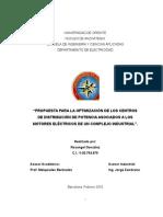 propuesta de estudio de cargas de una refineria