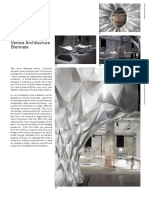 ZHA_Arum Instillation and Exhibition; Venice Architecture Biennale