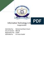 ITB Assignment 3 Nazir Ansari