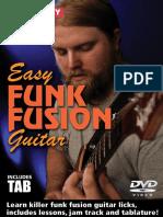 Easy Funk Fusion Tab Booklet