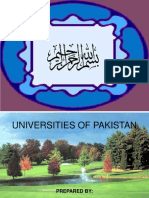 All Universities of Pakistan