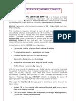 CA - CPT and IPCC coaching Institute - ESFA