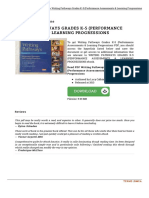 0325048096 Writing Pathways Grades k 5 Performance Assessme
