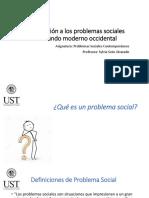 Introducción a Los Problemas Sociales Del Mundo Moderno_clase 1
