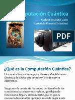 Computación Cuántica Presentación Carlos y Fernando