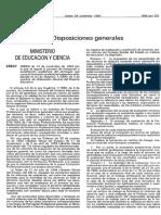 Orden 14-01-1994 Regula Proceso Evaluacion FP Especifica
