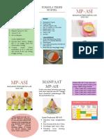 Leaflet MP-ASI