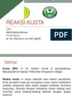 reFErat Reaksi-Kusta
