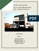 Report on Century Ply CFS, Kolkat