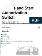 Acces and Start Authorization Switch