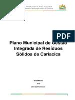 Plano Municipal de Gestão Integrada de RS