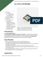 DFPlayer Mini SKU_DFR0299 - DFRobot Electronic Product Wiki and Tutorial_ Arduino and Robot Wiki-DFRobot.com