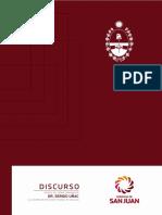 Gobernador Sergio Uñac - Discurso Anual 2018 • Público Final