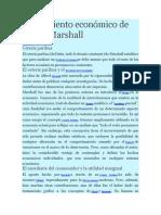 Pensamiento Económico de Alfred Marshall