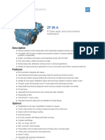 ZF85A Marine propulsion system