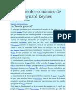 Pensamiento Económico de John Maynard Keynes