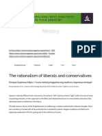 Ministry (Rationalismo of Liberals and Conservatives)
