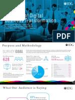 2018 IDG Digital Business Survey