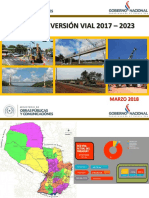 Plan de Inversión Vial 2017-2023 MOPC PY