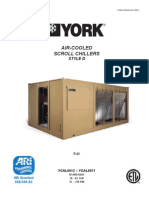 York Aircooled Scroll Chiller