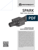Armasight by Flir Spark Core Userguide