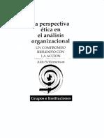 Perspectiva Etica en Analisis Organizacional